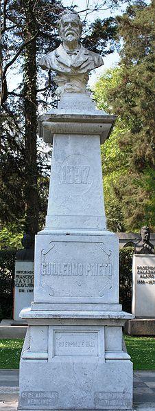 Busto de Guillermo Prieto