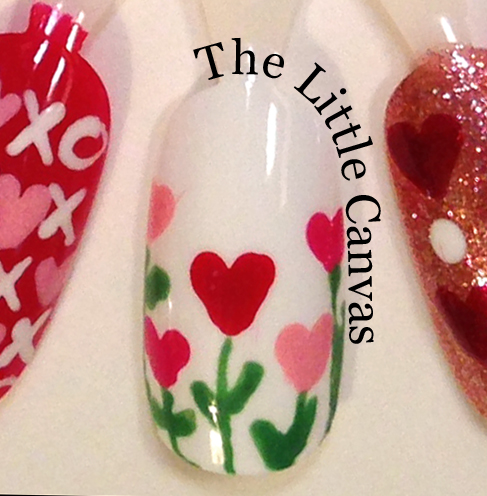 Valentines day nail art wheel the little canvas valentines day nail art wheel prinsesfo Image collections