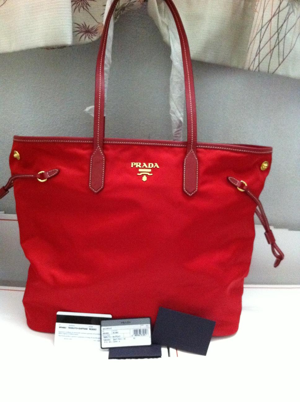 Prada Black Tote Bag Br4001 Tessuto Price