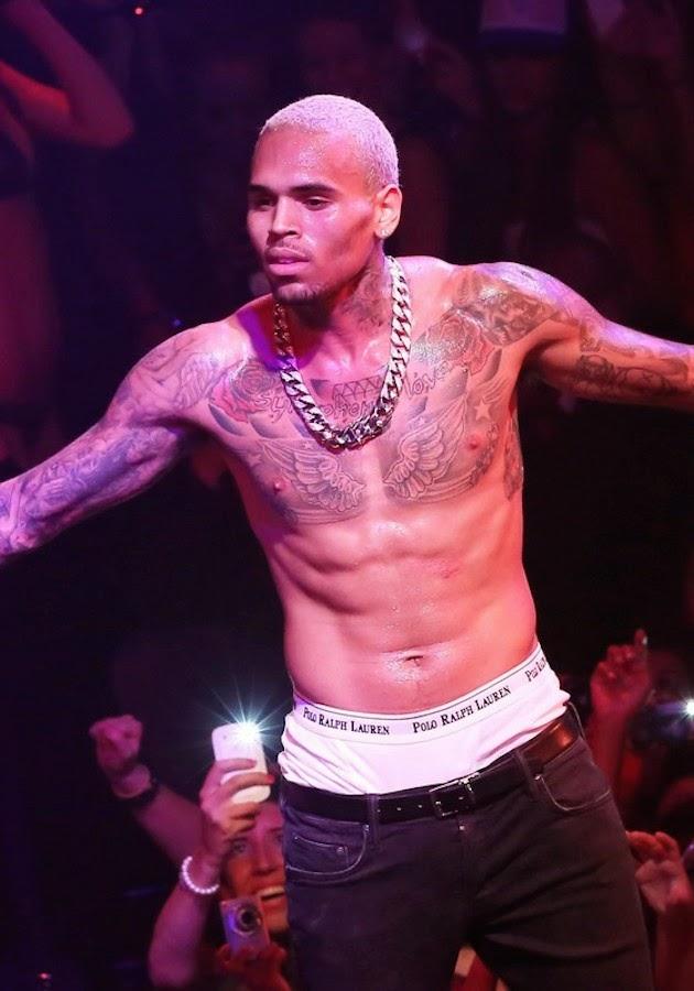 Chris Brown Shirtless 2012 Celeb Saggers: ...