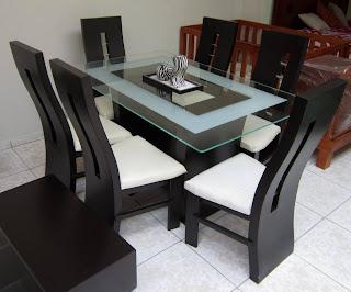Muebles alvac for Comedor 4 puestos madera