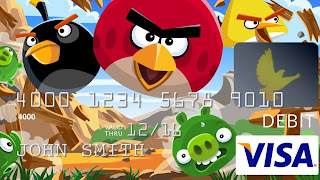 angry birds pre paid visa card Angry Birds Coming To Your Wallet?