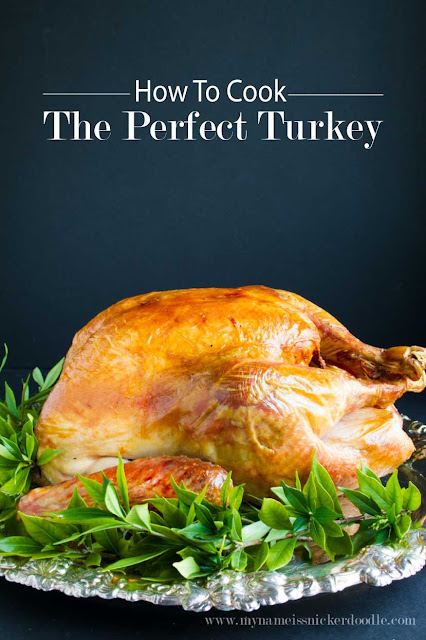 This is a fool proof way to cook the perfect turkey everytime!  And there is no fussing with it while it's cooking.  The best method for my Thanksgiving and Christmas dinner!  |  My Name Is Snickerdoodle