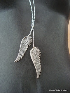 Lisa Voisin winged necklace