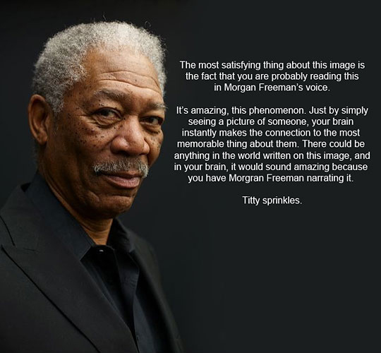 Morgan Freeman - Truly A Phenomenon - It's True!