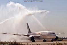 AeroMéxico comienza a operar en Santiago de Chile con Boeing 787 Dreamliner