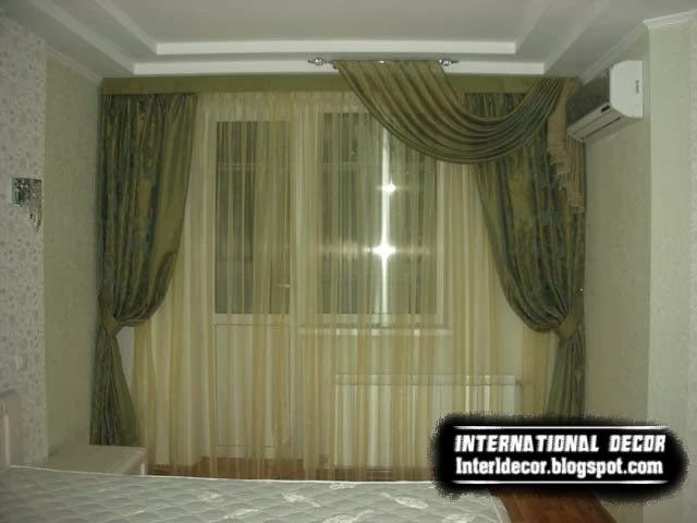 Luxury curtains for bedroom latest curtain ideas for bedroom for Bedroom curtain ideas