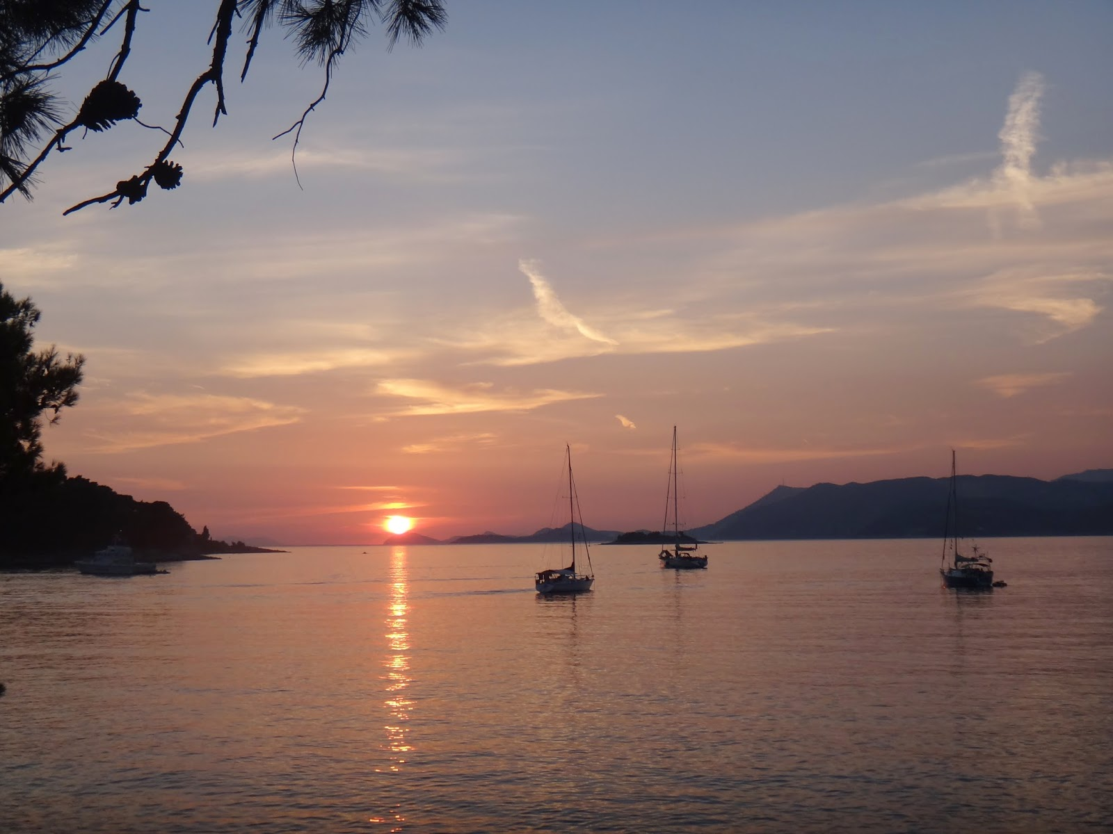 Sunset, Cavtat, Croatia