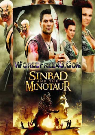 Poster Of Sinbad and the Minotaur In Dual Audio Hindi English 300MB Compressed Small Size Pc Movie Free Download Only At beyonddistance.com