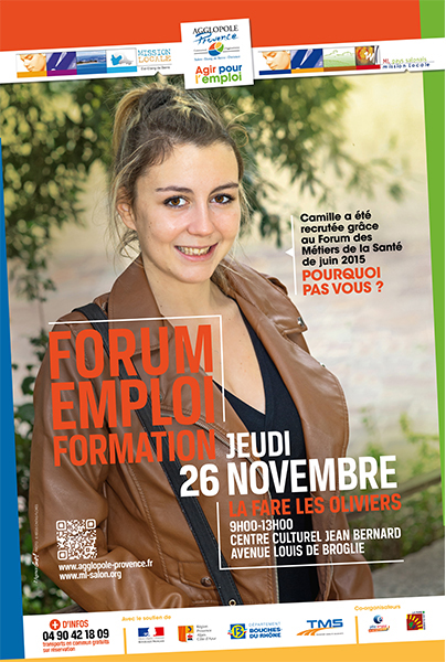 Forum emploi formation agglopole provence jeudi 26 for Mission locale salon de provence