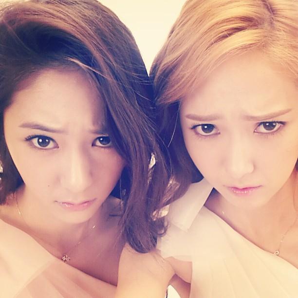 "Krystal Shares A ""Lookalike"" Photo with Jessica! - latest ..."