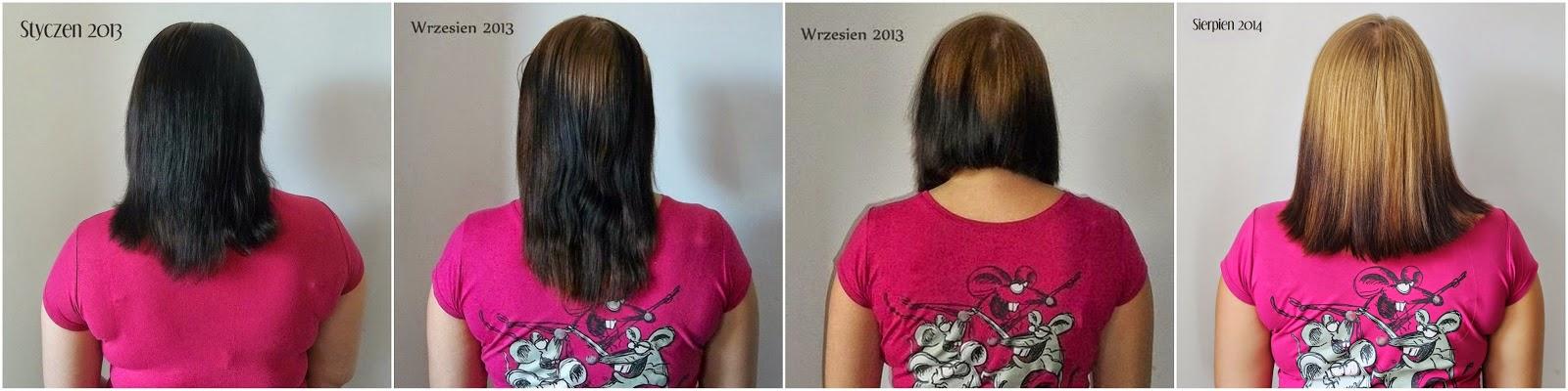 dwa lata bez farby do włosów