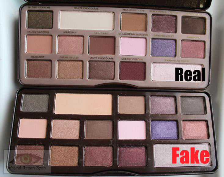 Behind Green Eyes: Too Faced Chocolate Bar Palette - Real ...