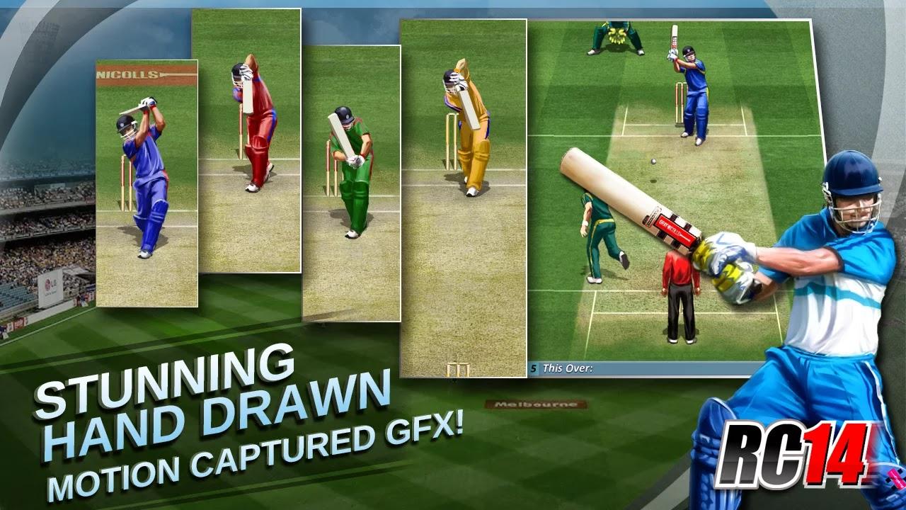 Real Cricket ™ 14 v1.2 [Full]