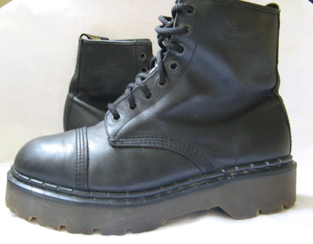 dr martens platform boots mens sz 11 5 uk 11 excellent ebay. Black Bedroom Furniture Sets. Home Design Ideas