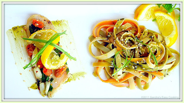 Delicious Recipe for Swai Fillets with Fettuccine