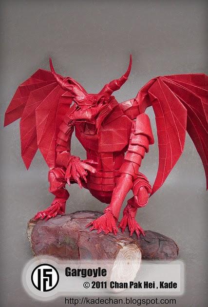 Origami Gargoyle