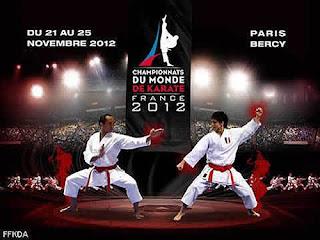 KARATE-Campeonato Mundial París 2012