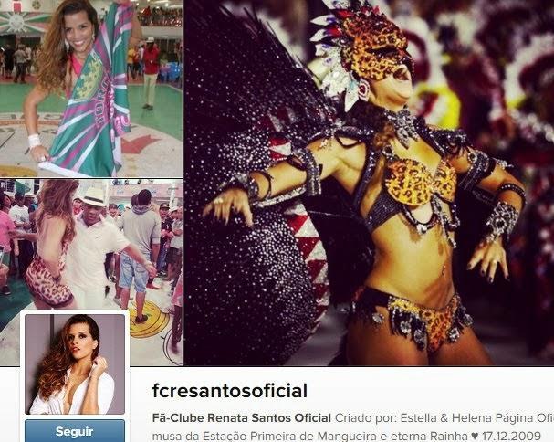 Siga o FC Renata Santos no Instagram