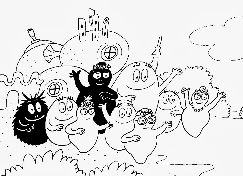 Disegni da colorare gratis on line for Video di cartoni animati per bambini