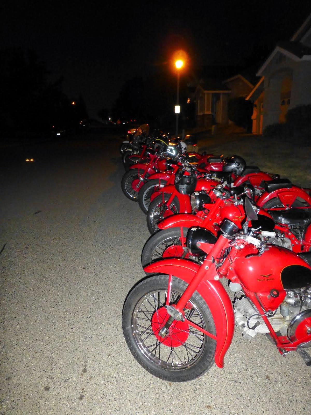 Vintage Moto Guzzi Tour d' California