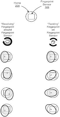 top touch id patent apple fingerprint trackpad