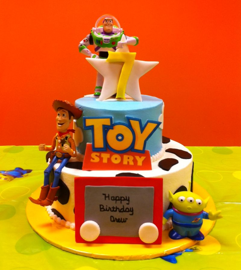 Birthday Cake Toy : Mytotalnet toy story cakes for children parties