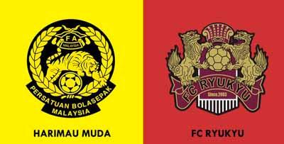 Perlawanan Bola Sepak Harimau Muda A vs FC Ryukyu 3-1