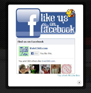 popup like fb box