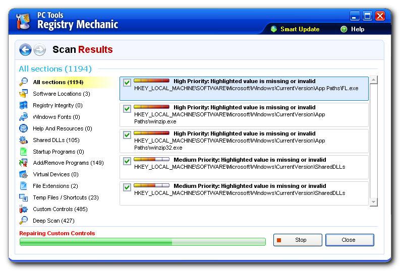 Pc tools registry mechanic v10.0.0.126