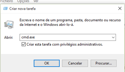 corrigir o erro 0x80004005 do Windows