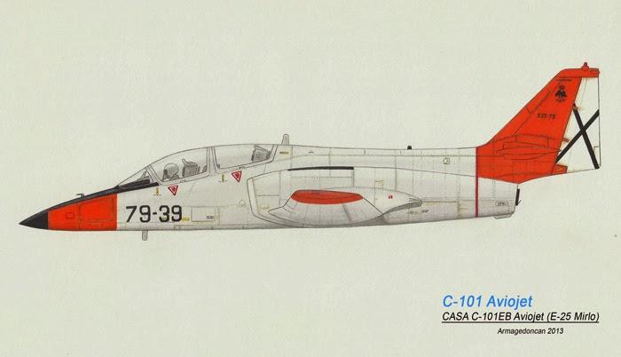 Los dibujos de Armagedoncan Armagedoncan+C-101+Aviojet