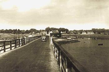 |Hayling Island bridge 1954