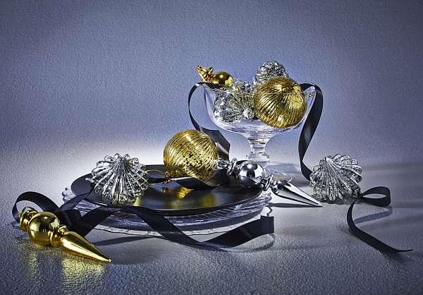 IKEA: Boże Narodzenie, srebro, złoto