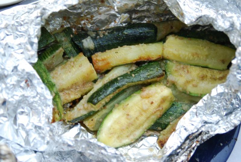 barbecue zucchine cartoccio