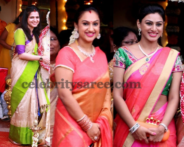 Celebrities in Lalitha Baby Shower