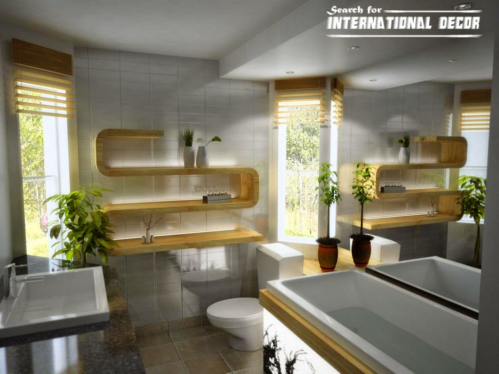 bathroom decor trends,bathroom design ideas,modern bathroom shelves