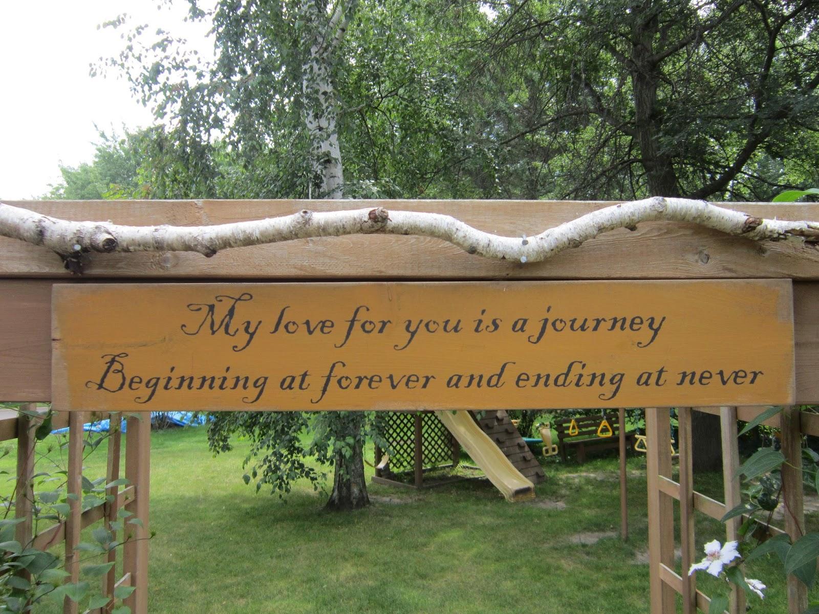 LoveNLoot: Inspirational Garden Sign