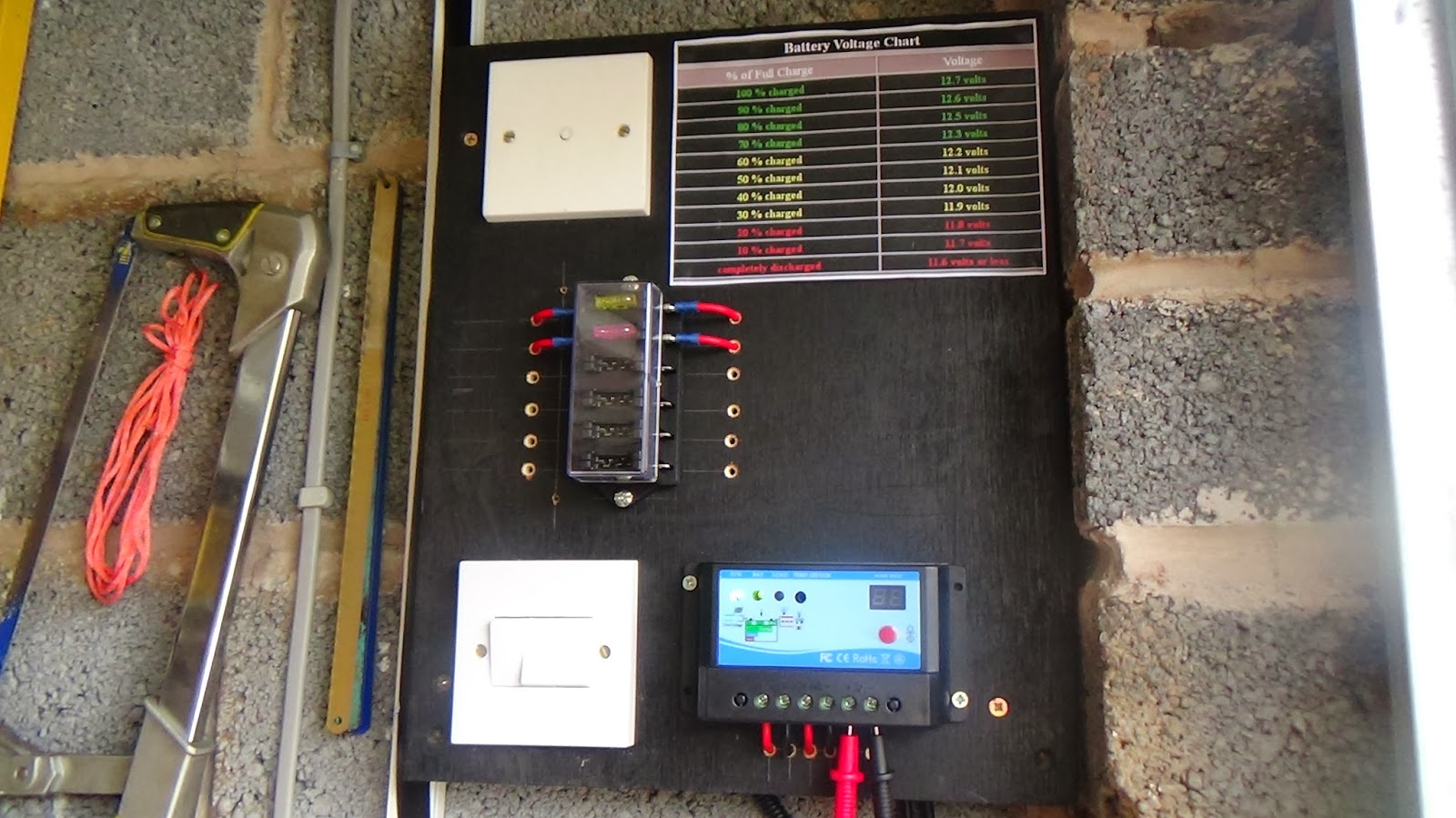 Diy Home Solar Power Projects How I Built My First Simple By Electronic Electrical Be Powerful Enough To Completely Run The Garages Electricity Requirements This Is Simply Me Learning About Components Involved