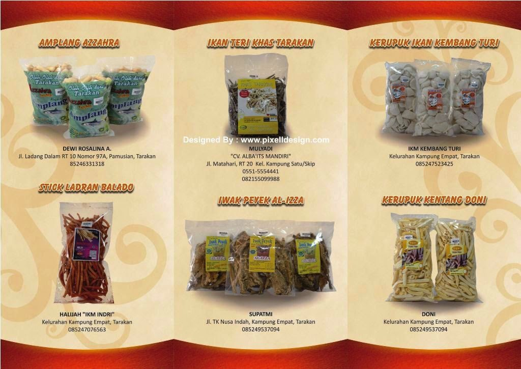 Contoh Brosur Makanan Ringan Snack