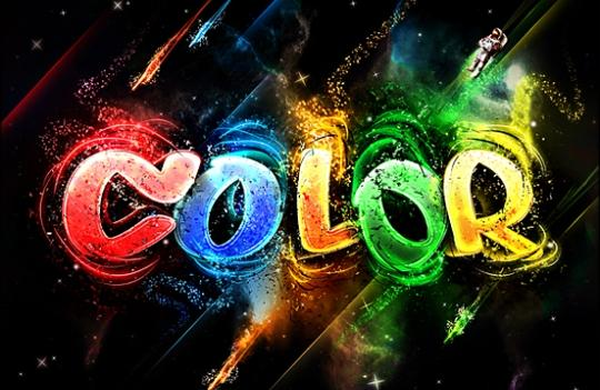 Color typography