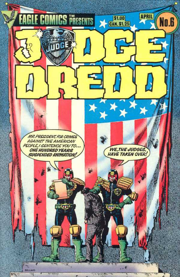 Judge Dredd Eagle