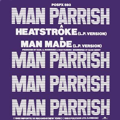 Man Parrish – Heatstroke / Man Made (1982, VLS, 320)