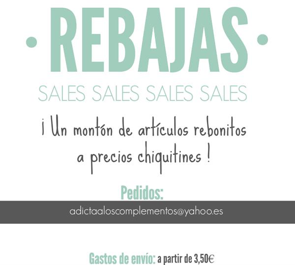 REBAJAS/SALES