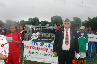 >Burmese Americans formed 18 soccer teams in East Coast aiming professional and tournament