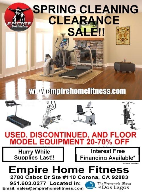 Empire home fitness april