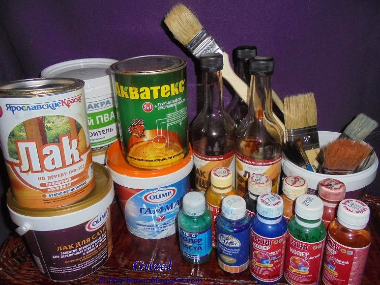 подбор красок для декорирования