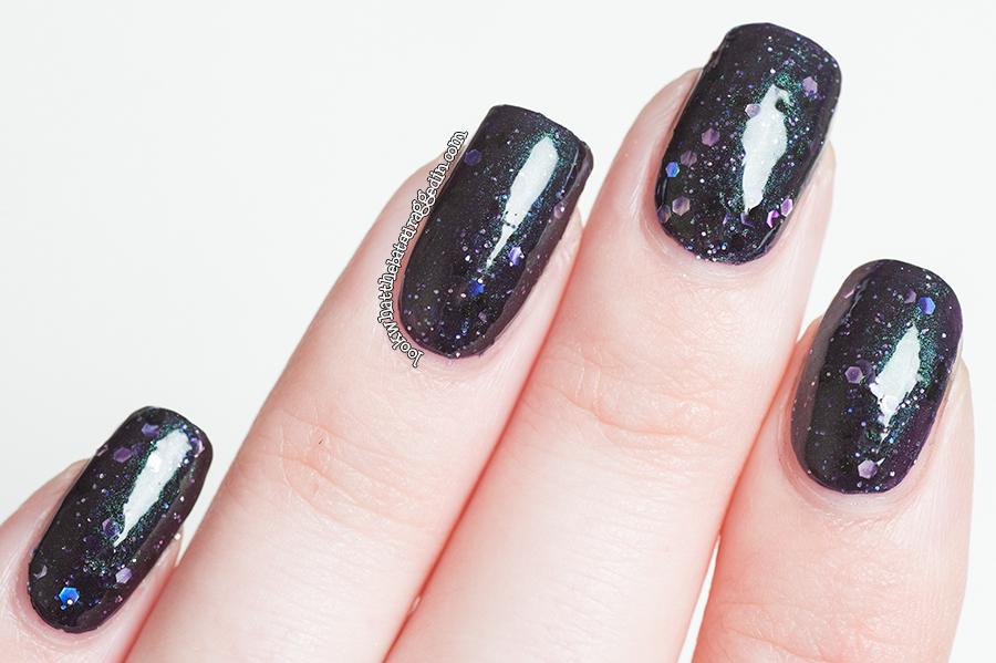 Illamasqua Creators collection Perseid nail polish swatch manicure