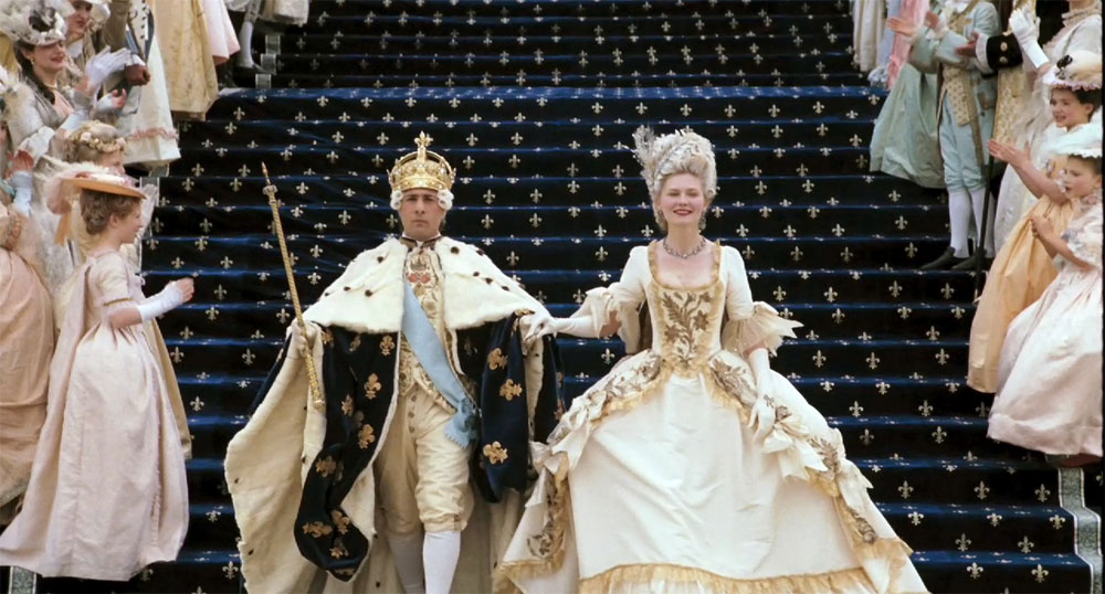 Marie Antoinette: Working with an historical basis