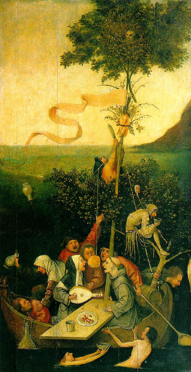Hieronimus Bosch: Ship of Fools, 1495.